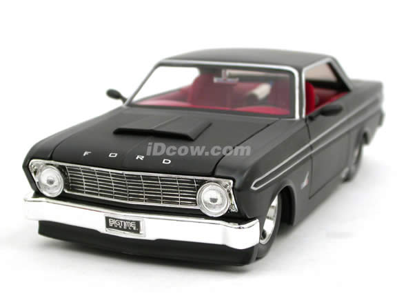 Falcon Diecast Model Car 124 Scale Die Cast By Jada Toys Flat Black